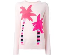 cashmere Palm Tree jumper - women - Kaschmir - S