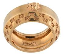 'Tribute' Ring mit eingeprägtem Logo