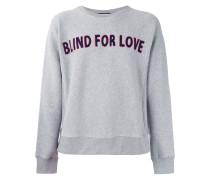 Sweatshirt mit MottoStickerei