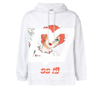 'Mila' Kapuzensweatshirt mit Print