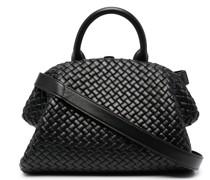Handtasche mit Webmuster