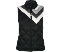 Vale patterned vest