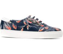 Sneakers mit Federn-Print
