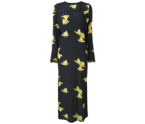 Florales 'Dawntreader' Krepp-Kleid