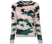 - Kapuzenpullover mit Camouflage-Print - women