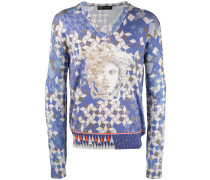 - Sweatshirt mit Logo-Print - men - Seide - 48