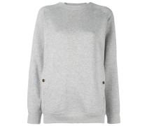 Sweatshirt mit rundem Kragen