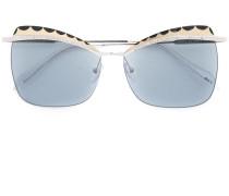 Eckige Sonnenbrille - women - Metall (andere) -