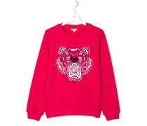 Sweatshirt mit Tigerstickerei - kids