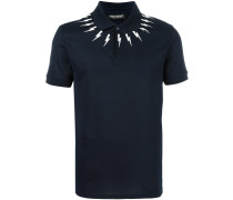 Poloshirt mit Blitz-Print - men - Baumwolle - XL
