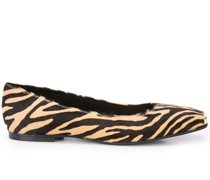 Ballerinas mit Animal-Print