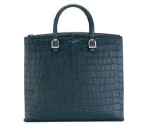 Handtasche in Krokodilleder-Optik - women