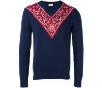 - Sweatshirt mit Paisley-Patch - men