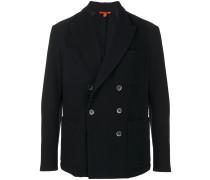 slim-fit pocket jacket