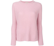 cashmere long sleeved sweater