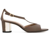 Sandalen mit Metall-Einsatz