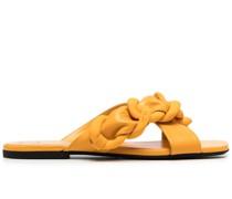Sandalen mit geflochtenem Riemen