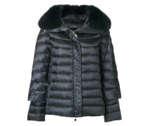 fur trimmed padded jacket