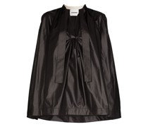 'Mavis' Bluse mit V-Ausschnitt