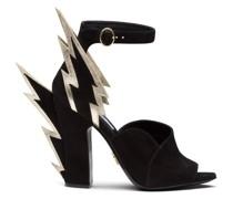 Sandalen mit Blitz-Design