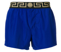 Grecca waistband swim shorts