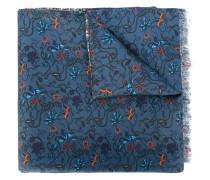 Wendbarer Schal mit Blumenmuster
