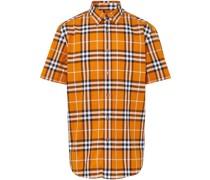 short-sleeve check shirt