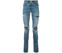'MX1' Skinny-Jeans im Distressed-Look