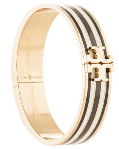 striped T-medallion bracelet