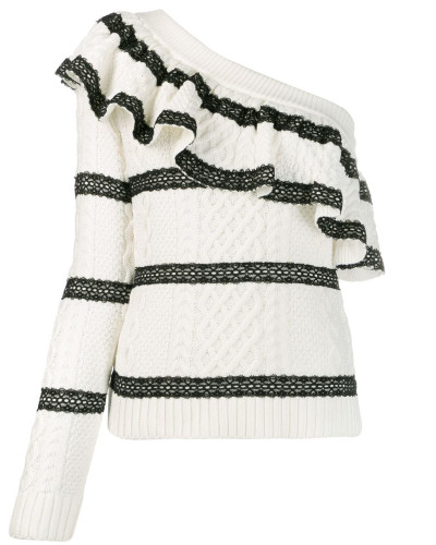 Pullover mit einem Ärmel