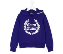 Caten Twins printed hoodie