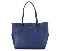 lateral pockets shopping bag - women - Leder