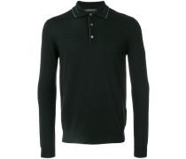 Gestricktes Merino-Poloshirt