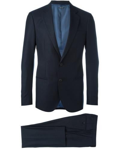 giorgio armani herren klassischer anzug reduziert. Black Bedroom Furniture Sets. Home Design Ideas