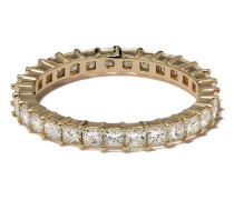 14kt 'Millie Ryan' Gelbgoldring mit Diamanten