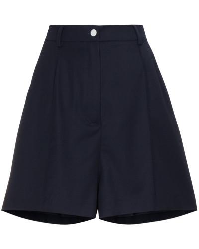 Shorts mit Faltendetail
