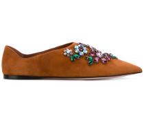 Loafer mit Verzierungen