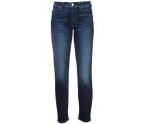 Jeans mit Umschlagsaum