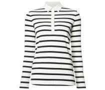 - Gestreiftes Poloshirt - women - Baumwolle - 40