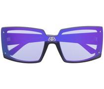 Eckige Shield Sonnenbrille