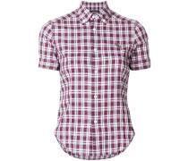 shortsleeved checked shirt