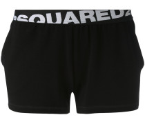 logo band shorts