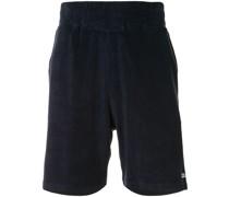 Frottee-Shorts mit Logo-Stickerei