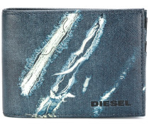 Neela XS denim print wallet