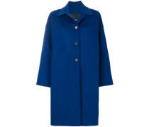 three buttoned coat