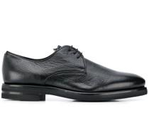 Oxford-Schuhe aus gekörntem Leder