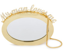 Magic Mirror clutch bag