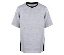 T-Shirt mit Kontrasteinsätzen