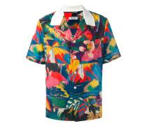 Hemd mit tropischem Print