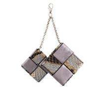 Schlüsselanhänger mit zwei Quadraten